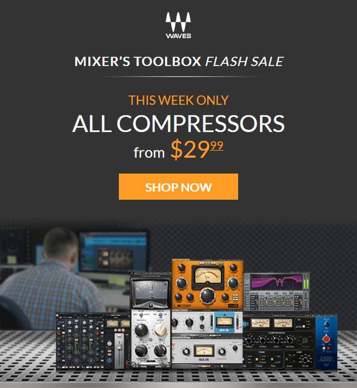 Waves Audio Compressors Sale