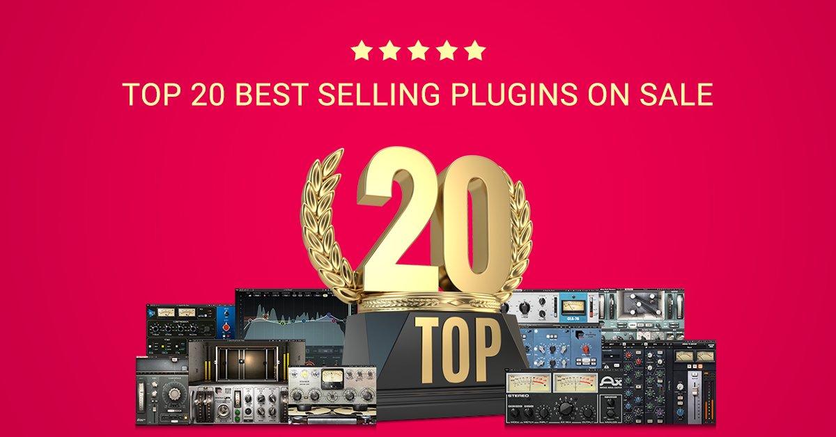 Flash Sale: Save on Waves Audio's Top 20 Best Selling Plugins