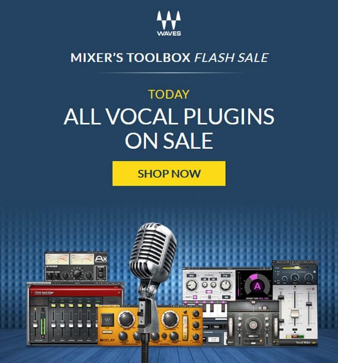Waves Audio Vocal Plugins Sale