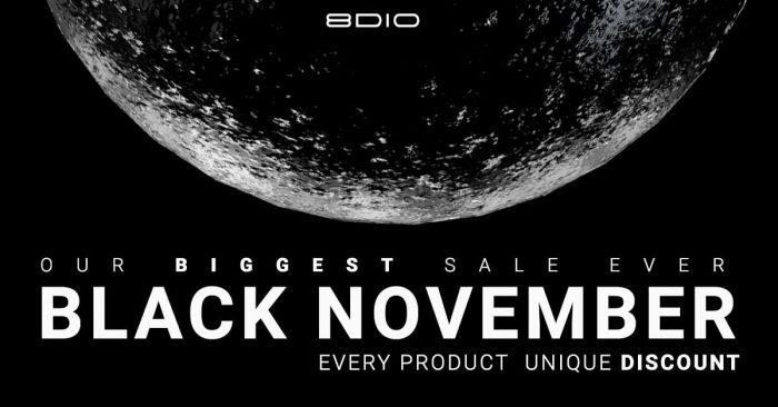 8Dio Black November 2019