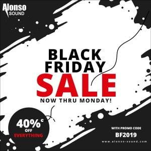 Alonso Sound Black Friday 2019