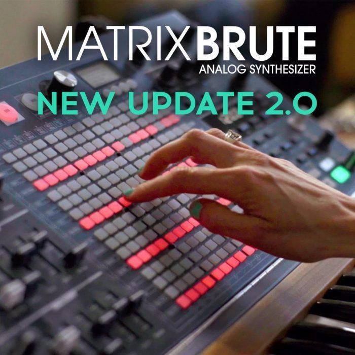 Arturia MatrixBrute 2 firmware update