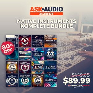 Audio Plugin Deals Ask Audio NI Komplete Bundle