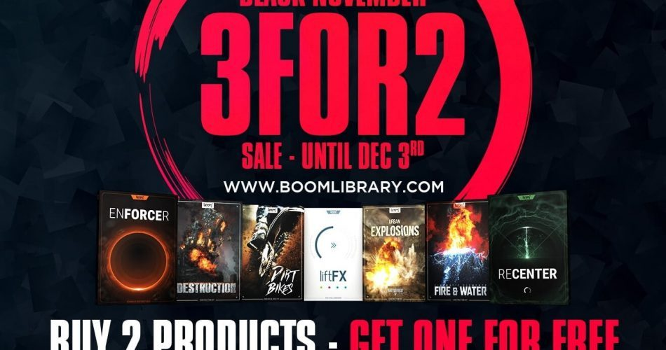 BOOM Library 3 for 2