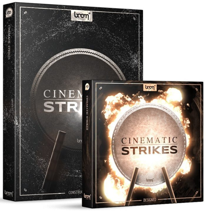BOOM Library Cinematic Strikes Bundle art
