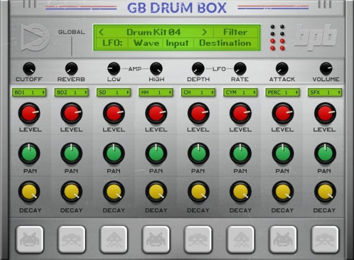 BPB SampleScience GB DrumBox