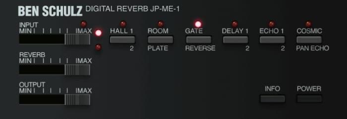 Ben Schultz Digital Reverb JP ME 1
