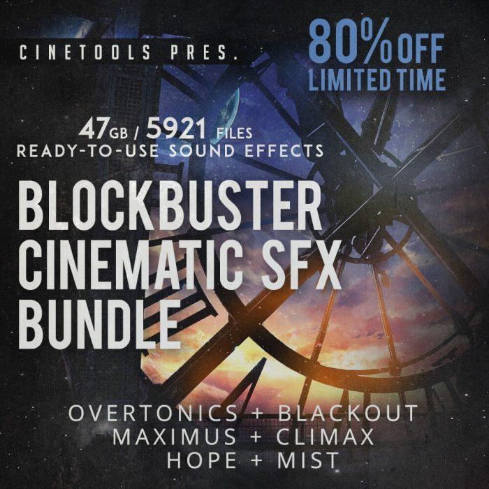 Cinetools Blockbuster Cinematic SFX Bundle