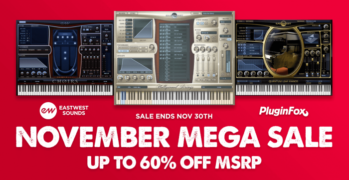 EastWest November Mega Sale