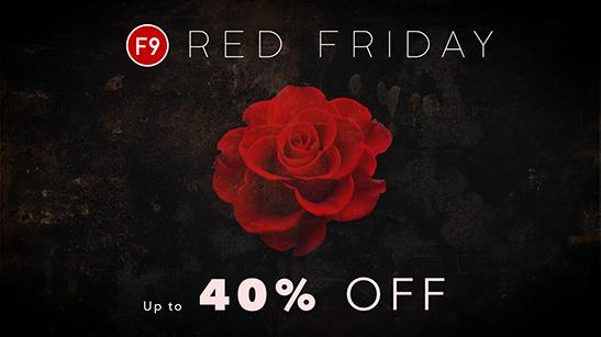 F9 Audio Red Friday Sale 2019
