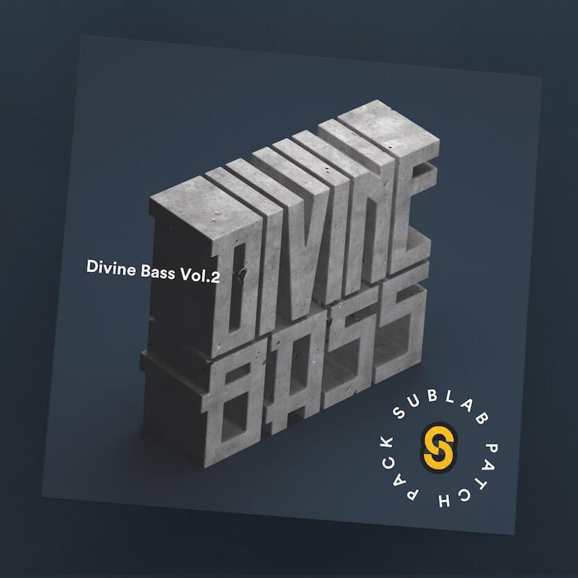 Sean Divine brings more track ready 808s and sub-basses to SubLab with Divine Bass II