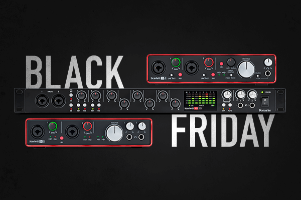Focusrite Black Friday