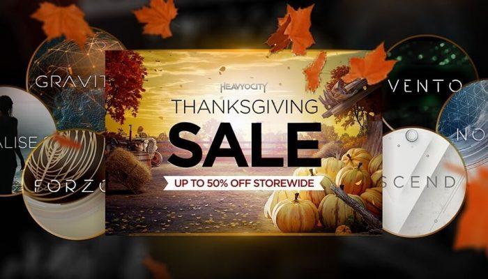 Heavyocity Thanksgiving Sale