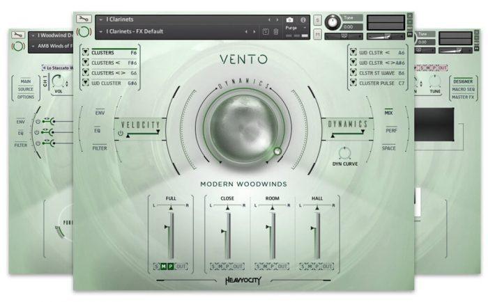 Heavyocity Vento GUI