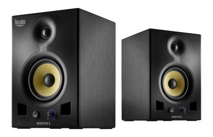Hercules DJ Monitor 5 pair