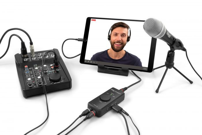 IK Multimedia iRig Stream setup