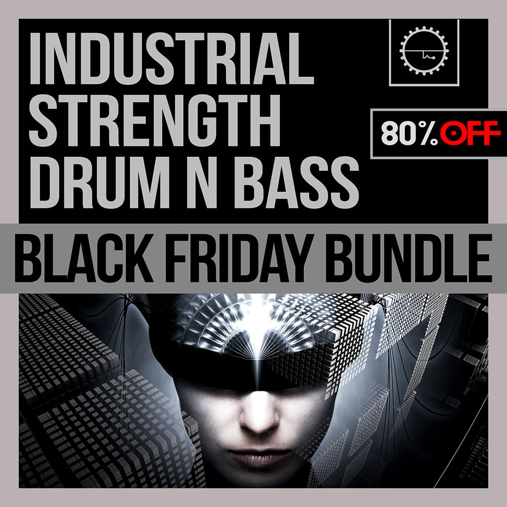 Save 80% with Industrial Strength's Drum N Bass Black Friday Bundle