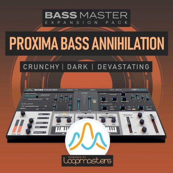 Loopmasters Bass Master Proxima Bass Annihilation