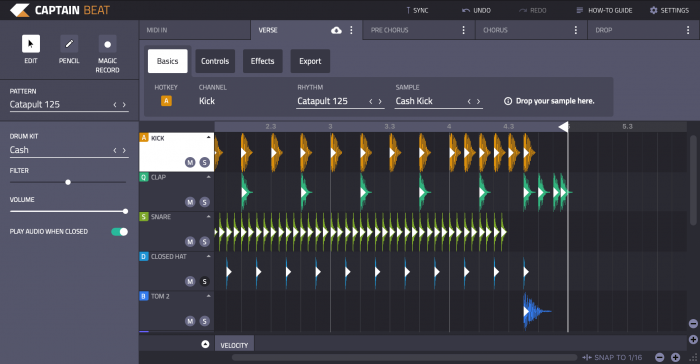 Mixed In Key helps you make beats quickly and intuitively with Captain Beat