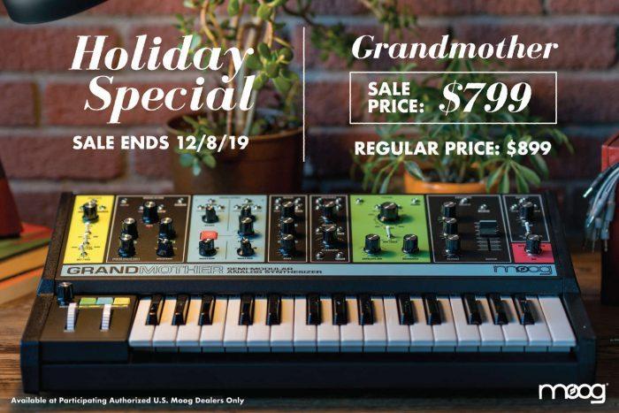 Moog Holiday Special 2020 Grandmother RGB 01