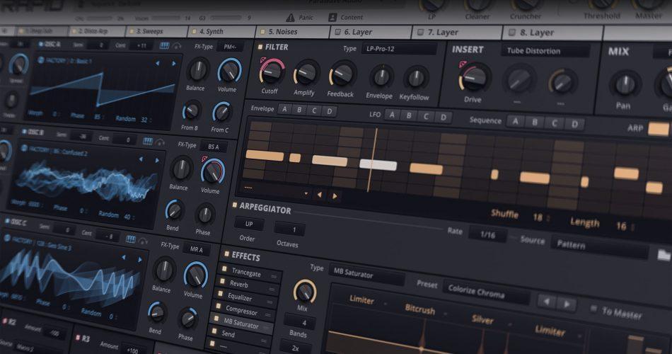 Parawave Audio Rapid feat