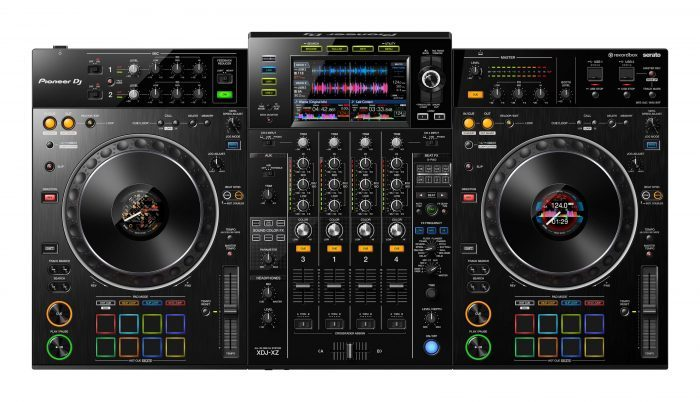 PIONEER DJ PROFESSIONAL 4-CHANNEL CONTROLLER FOR REKORDBOX DJ & REKORDBOX
