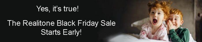 Realitone Black Friday Sale