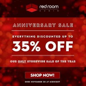 Red Room Audio Anniversary Sale