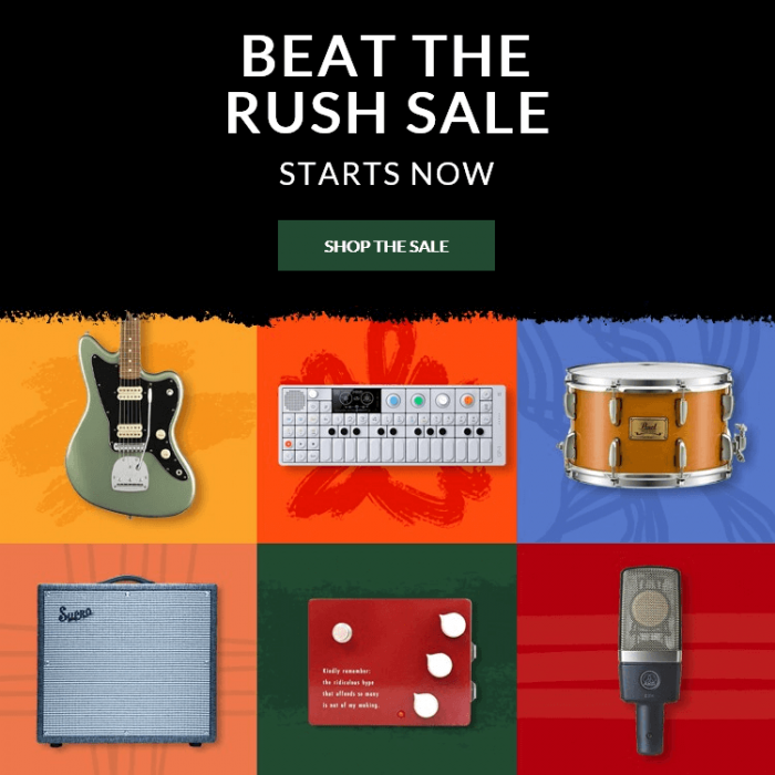 Reverb Beat The Rush Sale