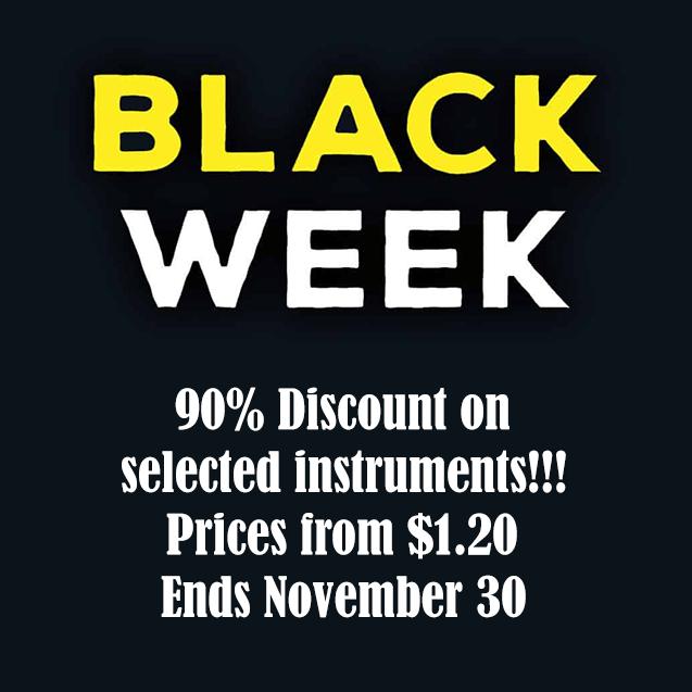 SampleTekk Black Week