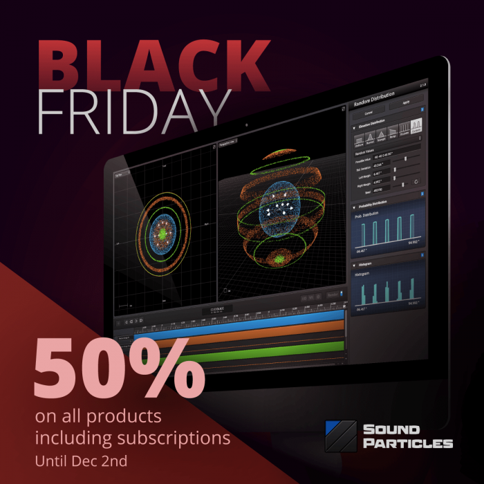 Sound Particles Black Friday