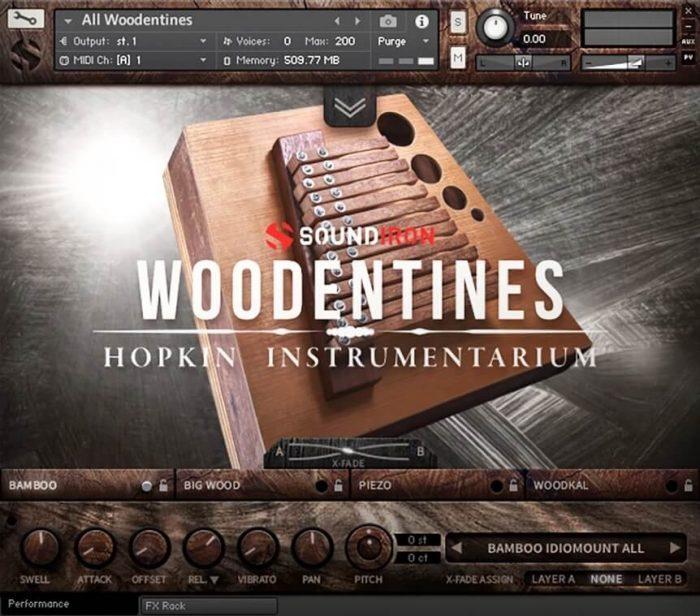 Soundiron Woodentines