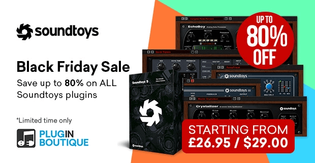 Soundtoys Black Friday PIB
