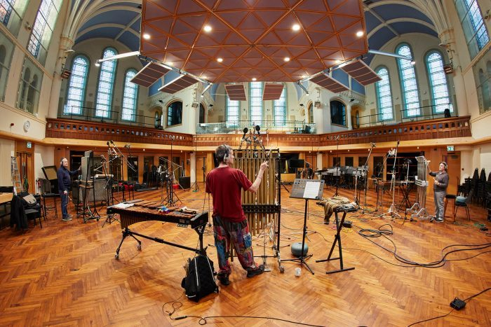 Spitfire Audio Swarm Percussion recording