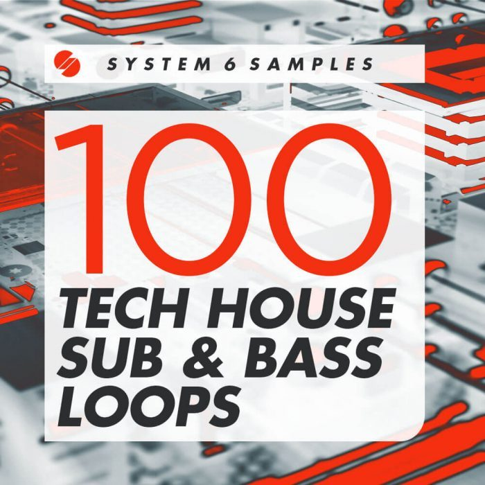 System 6 Samples 100 Tech House Sub & Bass Loops