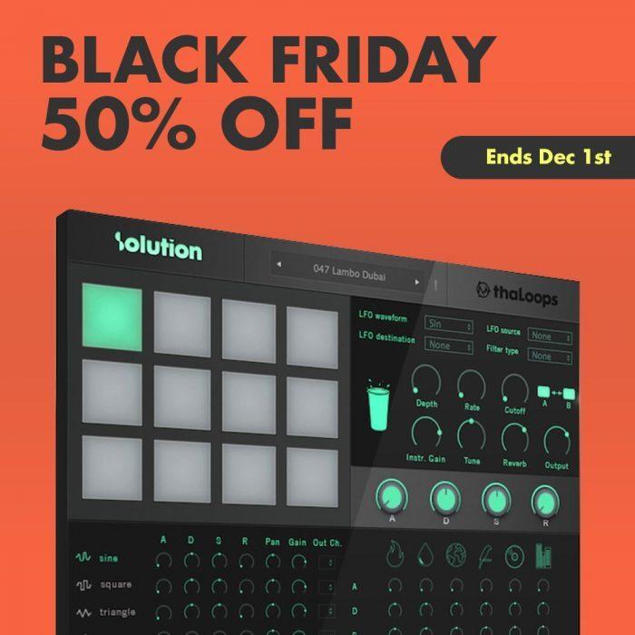 ThaLoops Black Friday 50 OFF
