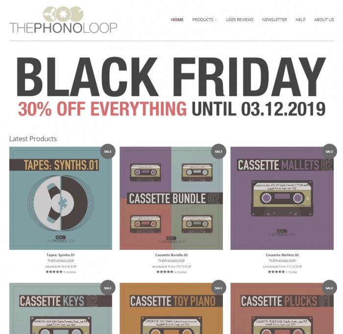 Thephonoloop Black Friday 2019