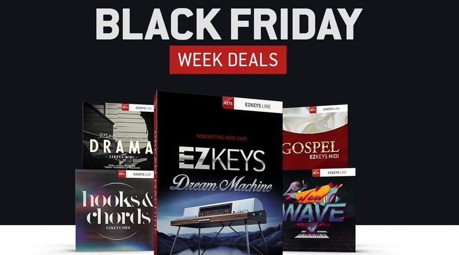 Toontrack Black Friday Week Deals 2