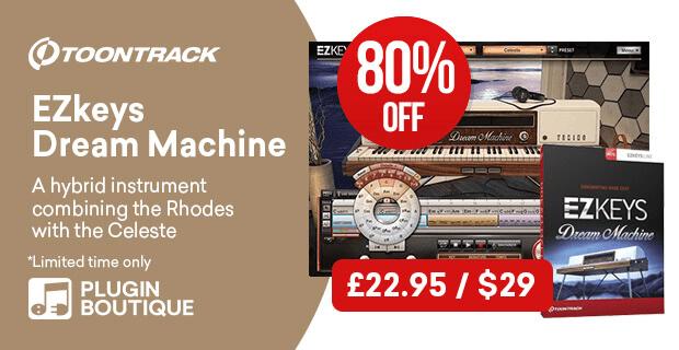 Toontrack Dream Machine sale