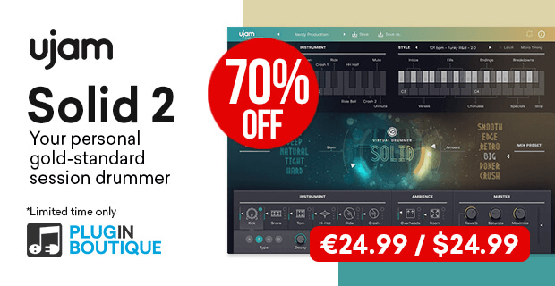 UJAM Solid 2 sale 70 OFF