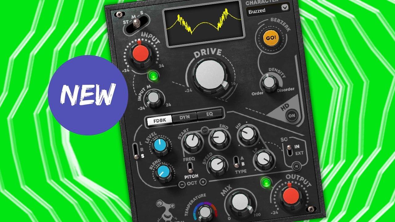 Waves launches Berzerk Distortion effect plugin, get it FREE now!