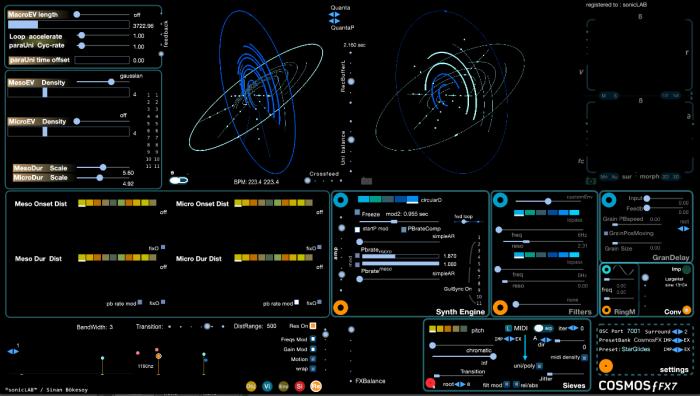 sonicLAB Cosmosƒ FX7