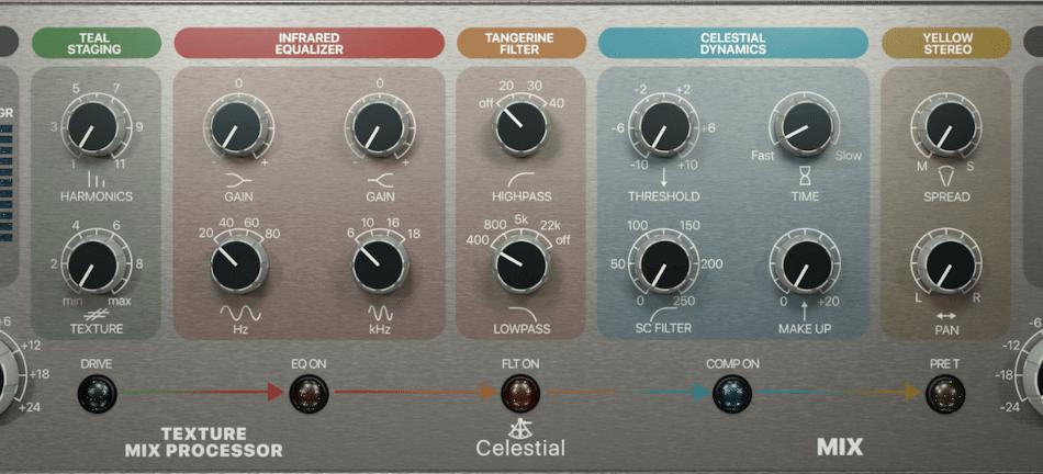 Acustica Audio Celestial Texture Mix Processor