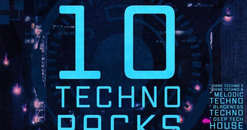 Audentity Records 10 Techno Packs