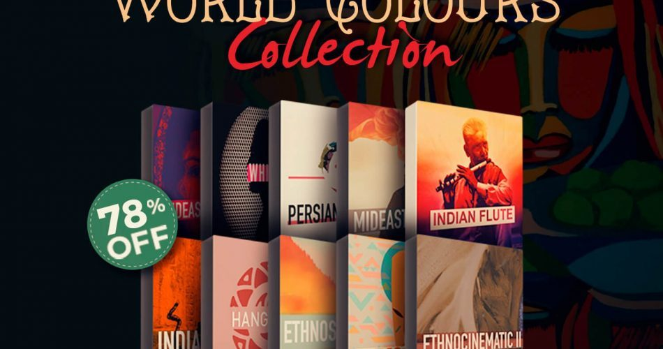 Audio Plugin Deals Rast Sound World Colours Collection