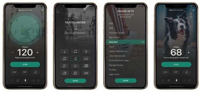 AudioKit HeyMetro iphoneX