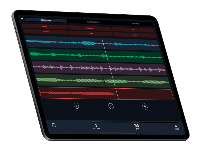 AudioKit L7 Live Looper iPad Pro