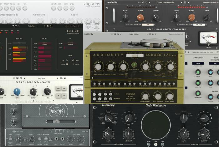 Audiority plugins