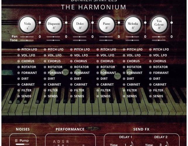 Bunker Samples The Harmonium
