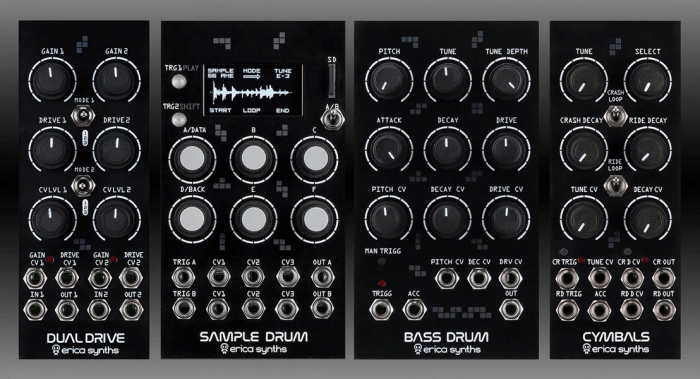 Erica Synths Drum Series